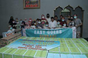 Easy Goers Community Targetkan 1.500 Paket Sembako dan Tali Kasih Di Ramadhan 1442 H