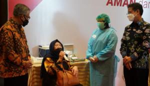 Vaksinasi Lansia Digelar Industri Keuangan Non Bank