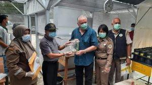 Ramet Sawit Asal Costa Rica Bebas OPTK, Pengasingan dan Pengamatan
