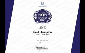 Gold Champion JNE