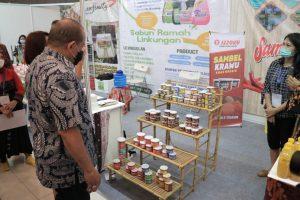 Ketua DPD RI saat menghadiri Pameran Inapro Expo Kadin Institute di Surabaya Jawa Timur,