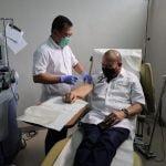 AA LaNyalla Mahmud Mattalitti Suntik Vaksin Nusantara