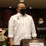 AA LaNyalla Mahmud Mattalitti Ketua DPD RI, (foto : dok. DPD RI)